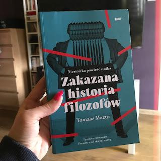 Takie książki - Taka Troche o.. Tomasz Mazur - Zakazana historia filozofów. Niestoicka powieść stoika.