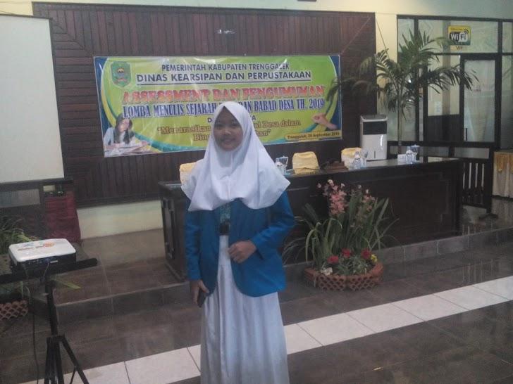 Laura Yensie , 20 Finalis Lomba Menulis Babad Desa di Trenggalek