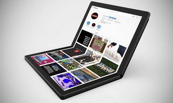 شركة لينوفو تعلن عن اول حاسوب قابل للطي ThinkPad X1