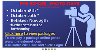 FHS picture days scheduled