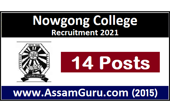 nowgong-college-Job-2021
