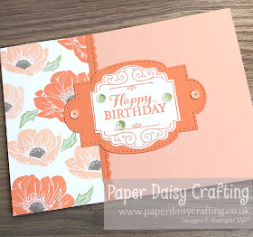 FLoral Essence Layered with Kindness Stampin Up