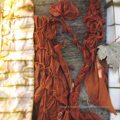 corsi shibori tintura naturale