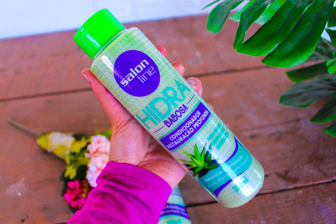 Shampoo e Condicionador Hidra Barbosa da Salon Line
