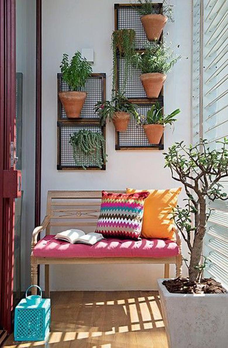 Lindas ideias para jardim suspenso e jardim vertical  apartamento