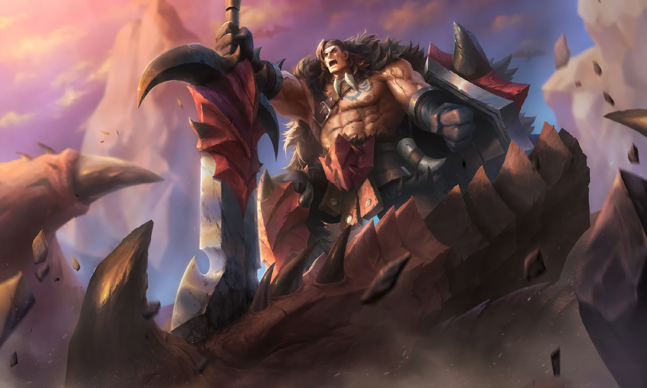 Wallpaper Tigreal Wyrmslayer Skin Mobile Legends HD for PC