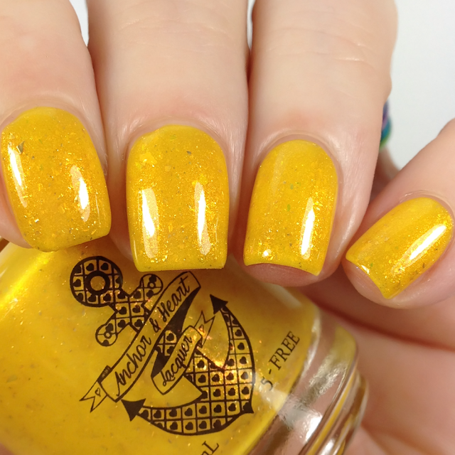 Anchor & Heart Lacquer-Smile So Bright It Shines