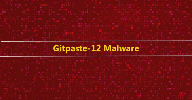 Gitpaste-12 Malware