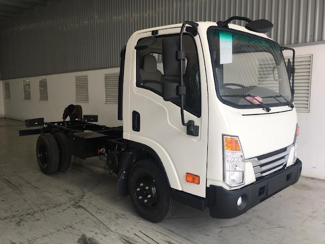 Xe tải Daehan 2,5 tấn sắt xi