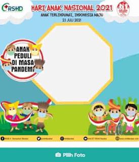 link twibbon hari anak nasional 2021