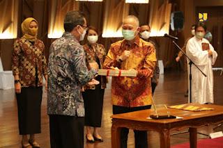 Menteri Basuki Tekankan Pentingnya Efisiensi Anggaran