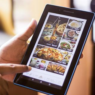 Cartas y menus electronicos