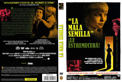Carátula dvd: La mala semilla (1956) The Bad Seed - Cover
