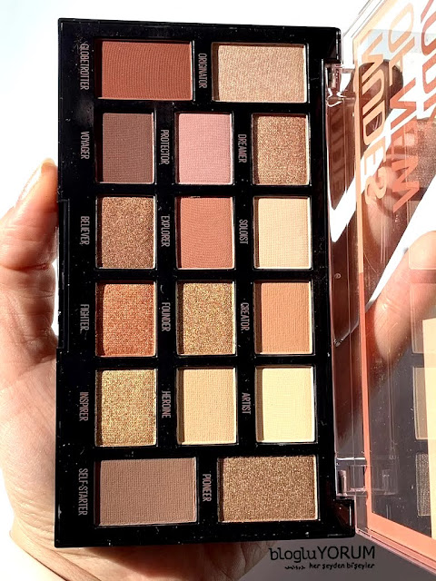 maybelline nudes of new york far paletini inceliyorum 1