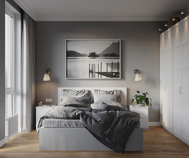 Thiết kế và thi công hoàn thiện nội thất căn hộ chung cư Sunshine City Quận 7 - Phòng Master