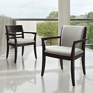 Global Total Office Wood Reception Chairs