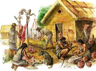 ricerca sulla casa nella preistoria