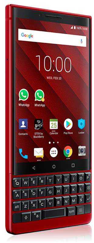 BlackBerry KEY2 Red Edition - Price and Specifications in BD