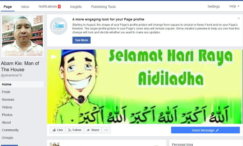 Pelancaran Laman Peminat Facebook Abam Kie