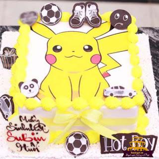 bánh-sinh-nhật-hình-pikachu
