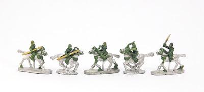 Skythian cavalry x 5