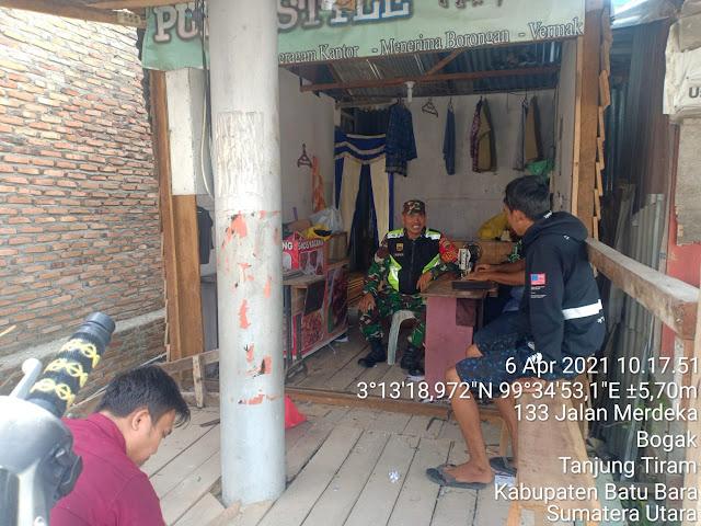Eratkan Keharmonisan Dengan warga Binaan Dilaksanakan Personel Jajaran Kodim 0208/Asahan Dengan Cara Komsos