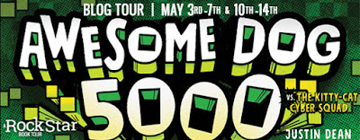 Awesome Dog 5000 VS. The Kitty-Cat Cyber Squad Blog Tour: Excerpt + Giveaway
