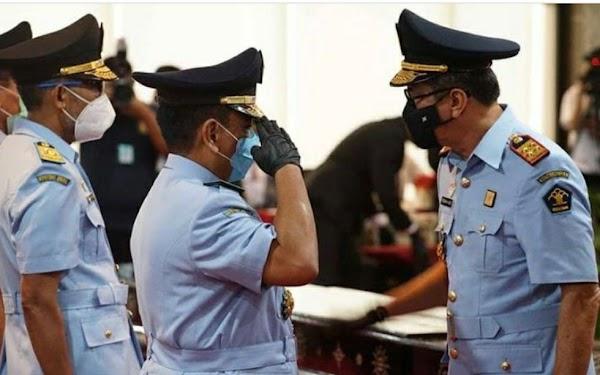 Yasonna Lantik Jenderal Polisi Menjadi Sekjen Kemenkumham