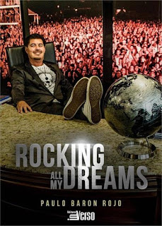 "Capa do livro ""Rocking all my dreams"" de Paulo Baron Rojo"
