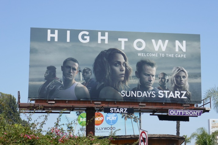 Hightown season 1 billboard Sunset
