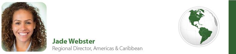 Jade Webster, IYF Regional Director, Americas & Caribbean