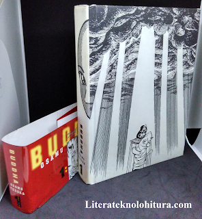 buddha volume 1 by osamu tezuka front cover without dusk jacket