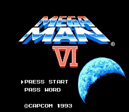 Jogar Mega Man 6 Nintendinho online grátis
