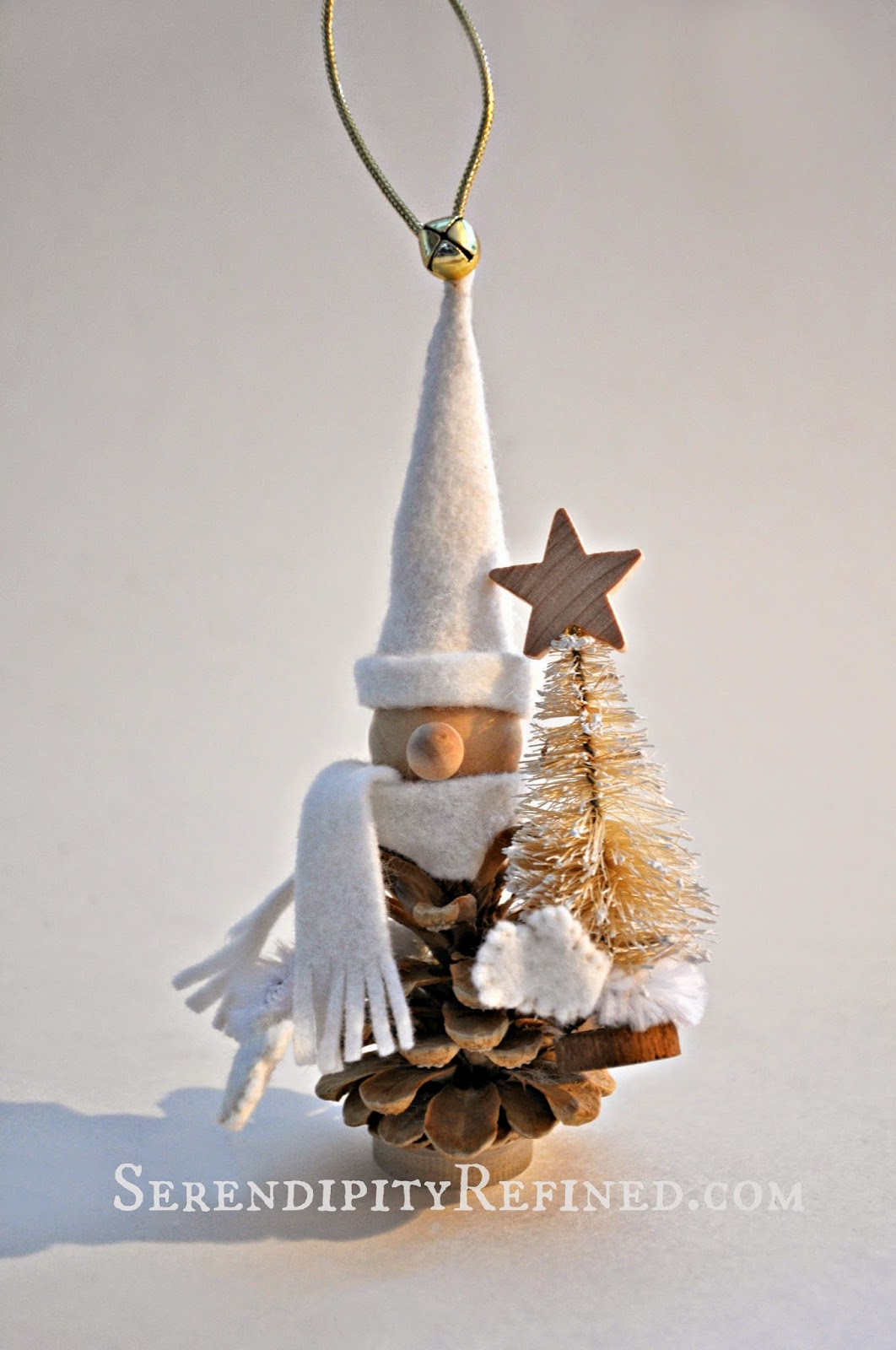 Small Gold Christmas Tree