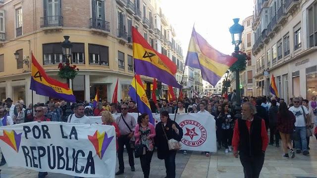 Manifestación Republicana en Málaga