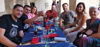 Restaurant Els Arcs, Plaza de Dins, Alcoy, provincia de Alicante.