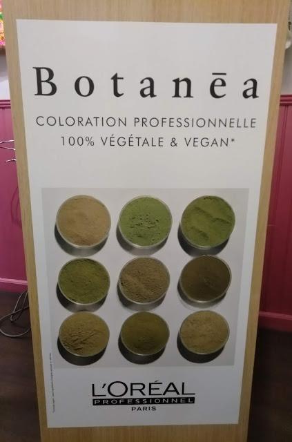 Botanéa, coloration végétale et vegan de L'Oréal.