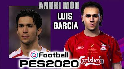 PES 2020 Faces Luis Garcia by Andri Mod