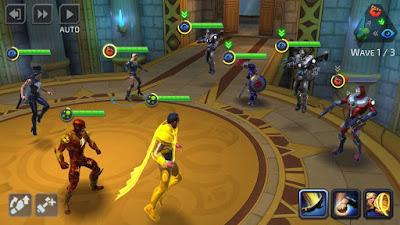 لعبة MARVEL Strike Force مكركة، لعبة MARVEL Strike Force مود فري شوبينغ