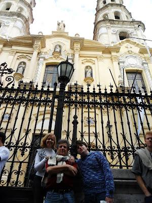 San Telmo; Buenos Aires; viajando pela America Latina; Igreja Católica de San Telmo;