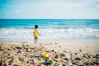 playa verano sol protección