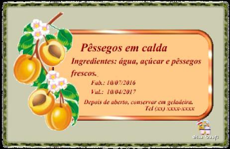 Compota de pêssego 6