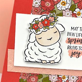 Stampin' Up! Springtime Joy Ornate Garden Easter Card ~ www.juliedavison.com #stampinup January-June 2021 Mini Catalog