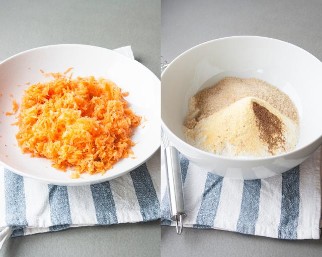 Muffin alle carote, le tortine monoporzioni facili da fare step 1 e 2