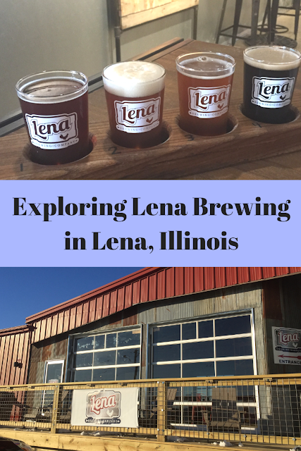 Exploring Lena Brewing Company in Lena, Illinois and sampling locally brewed craft beer
