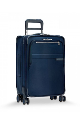 Briggs & Riley will award one lucky winner with a free baseline CX expandable spinner carry-on suitcase worth over $600 so you can travel in style!