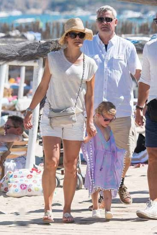 Crown Princess Victoria And Her family On Holiday In France