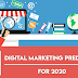 14 Digital Marketing Predictions For 2020 #infographic