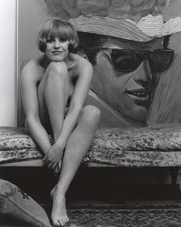Pauline Boty with Belmondo, by Lewis Morley