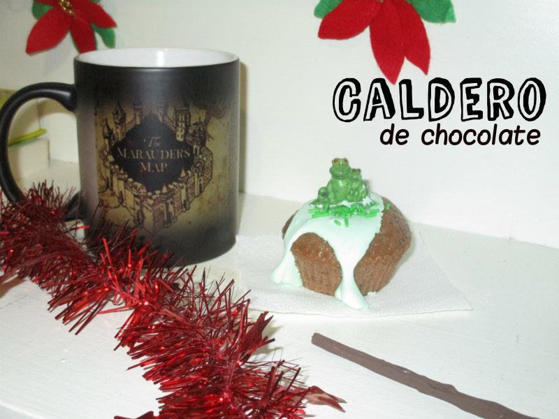 Caldero de chocolate para Harry Potter